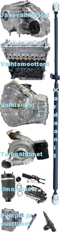Vaihtomoottori saksasta